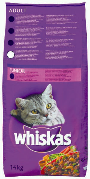 Whiskas Adult Dry Tuna 14kg
