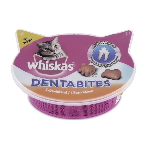 Whiskas Dentabites With Chicken - 40g