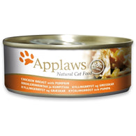 Applaws Cat Chicken Breast with Pumpkin - Can 70g