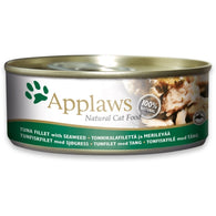 Applaws Cat Tuna Fillet with Seaweed - Can 156g