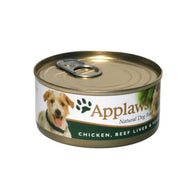 Applaws Dog Chicken Breast with Beef Liver and Vegetables - Can 156g