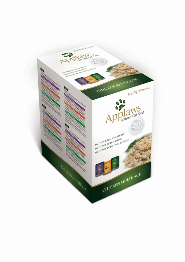 Applaws Cat Alutasak Multipack Csirke 12x70g