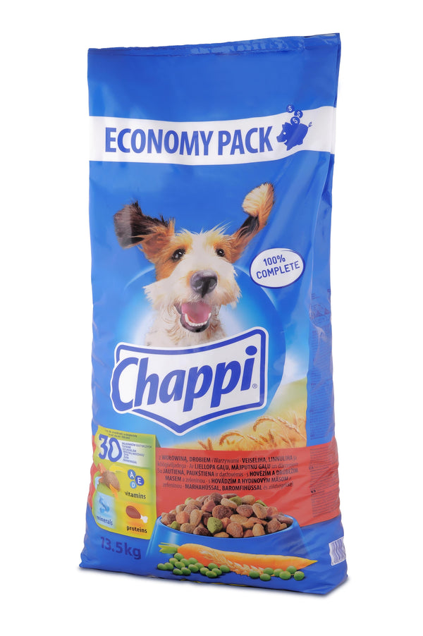 Chappi Beef and Poultry - Dry 13,5kg
