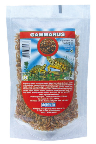 Bio-Lio Turtle Gammarus - 400ml