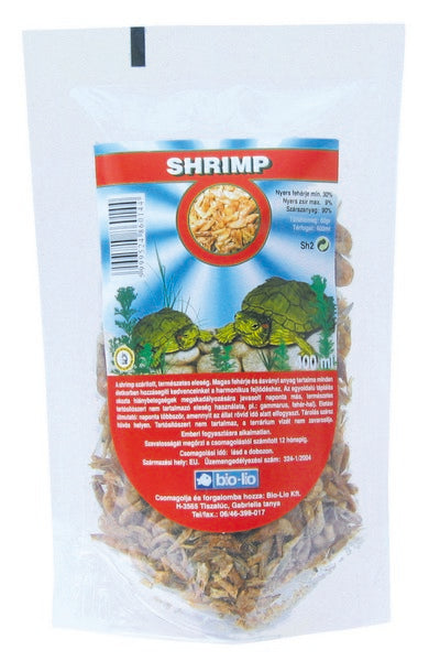 Bio-Lio Turtle Food - Shrimp - 400 ml