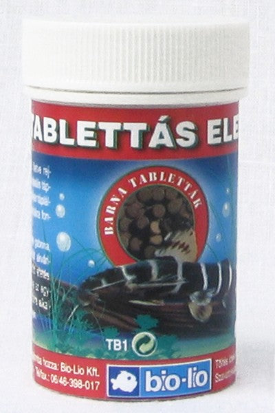 Bio-Lio Fish Pill Food Brown - 15ml / 30db