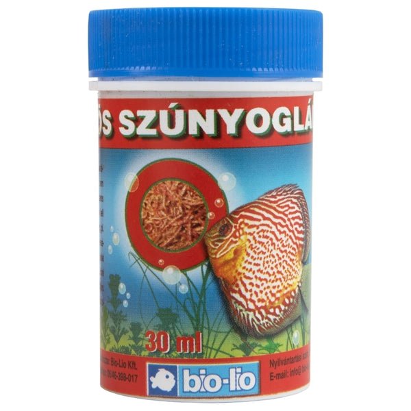 Bio-Lio Fish Food - Red Mosquito Larva -  30ml