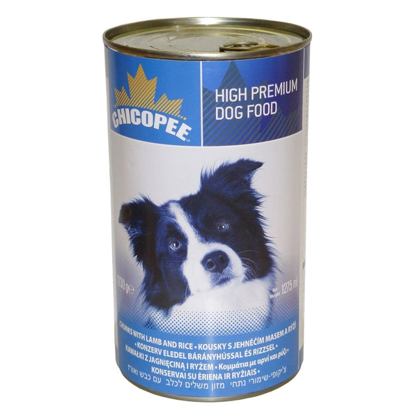 Chicopee Adult Dog Lamb&rice - Can 1230g