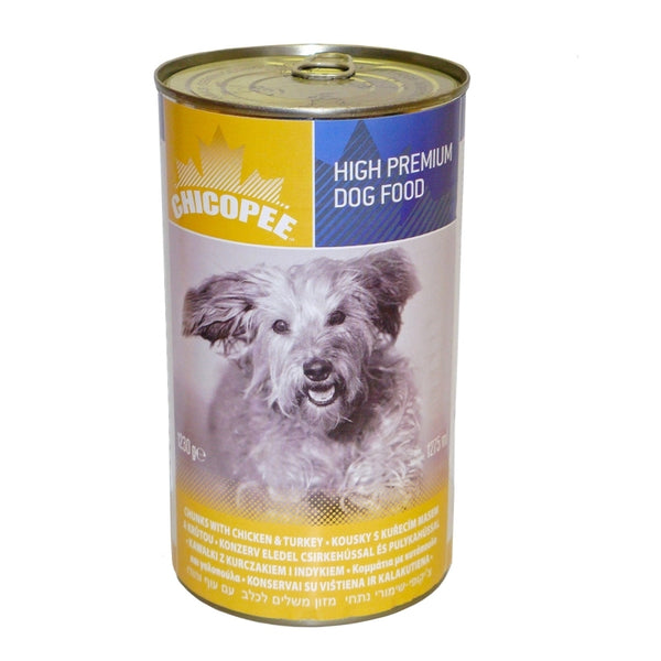 Chicopee Adult Dog Chicken and Turkey - Can 1230g