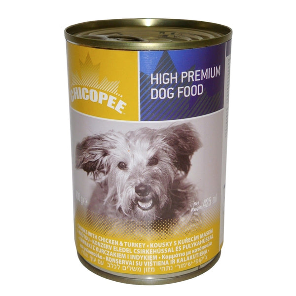 Chicopee Adult Dog Chicken and Turkey - Can 400g