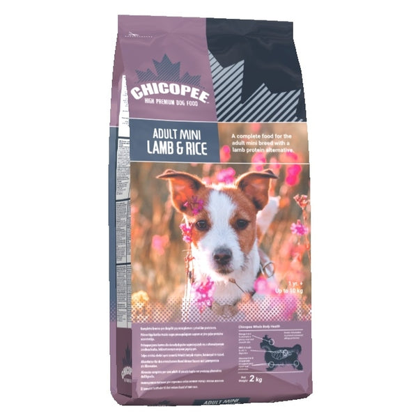 Chicopee Adult Mini Lamb and Rice 2kg