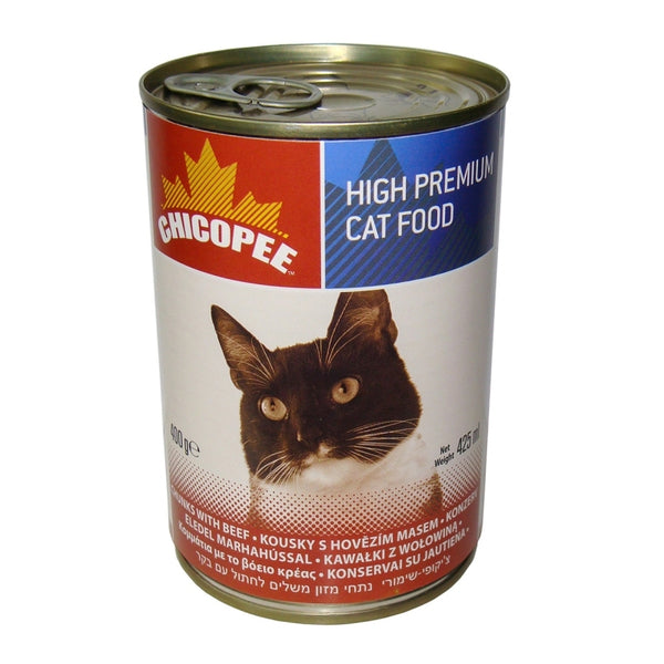 Chicopee Adult Cat Beef - Can 400g