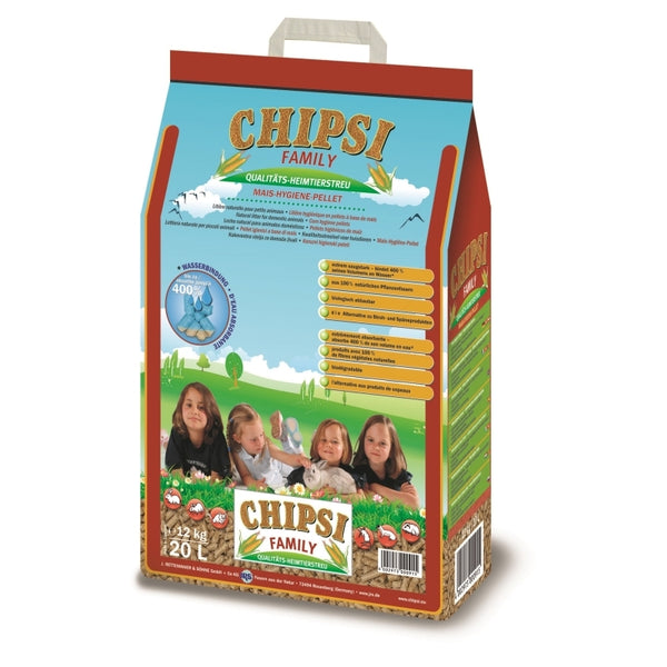 Chipsi Family Rodent Litter - 20l