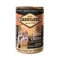 CarniLove Puppy Salmon and Turkey - Can 400gr