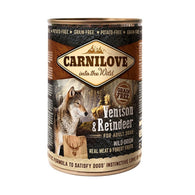 CarniLove Adult Venison and Reindeer - Can 400gr