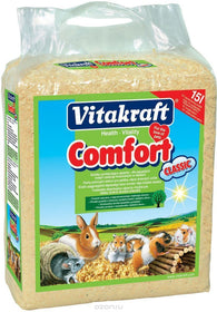 Vitakraft Comfort Golden Natural Straw For Rodents - 60l