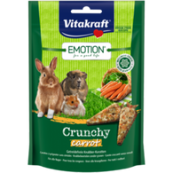 Vitakraft Emotion Crunchy Carrot For Rodents - 100g