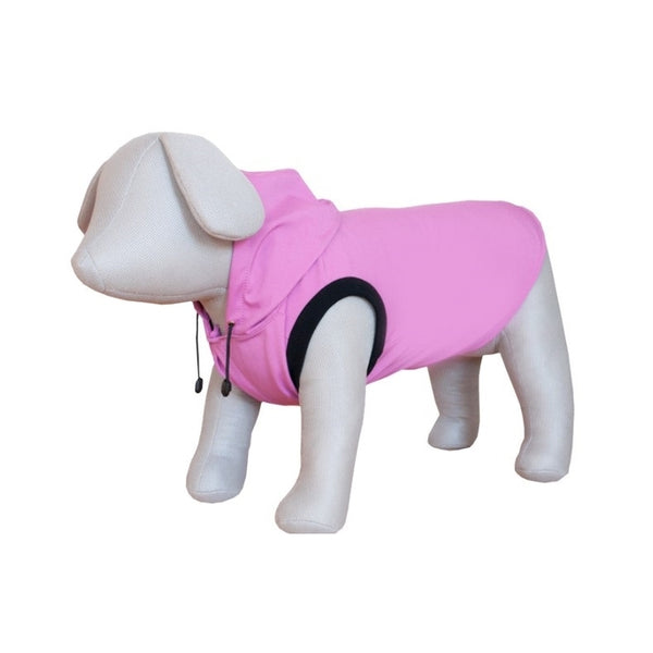 Czi-Sza Waterproof Dog Jacket with Hoody L 50cm Pink