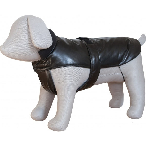 Czi-Sza Dog Clothes Lined Leather 50cm Brown