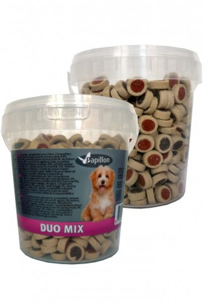 Papillon Duo Mix Snack 500g
