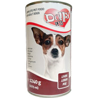 Dolly Dog Liver - 1240g