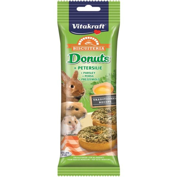 Vitakraft Donuts Parsley For Rodents - 28g