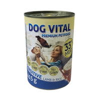 Dog Vital Sensitive Lamb & Rice In Gravy - 415g
