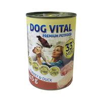 Dog Vital Turkey & Duck In Gravy - 415g