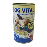 Dog Vital Sensitive Lamb & Rice In Gravy - 1240g