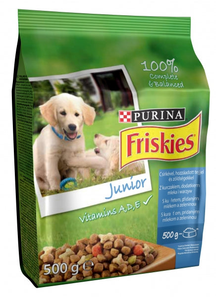 Friskies Junior Dry Dog - 500g