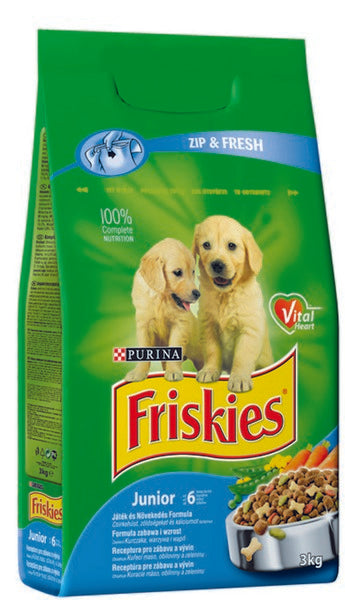 Friskies Junior Dry Dog - 3kg