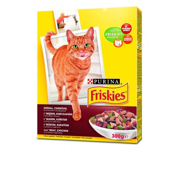 Friskies Meat and Chicken, Vegetable - 300g