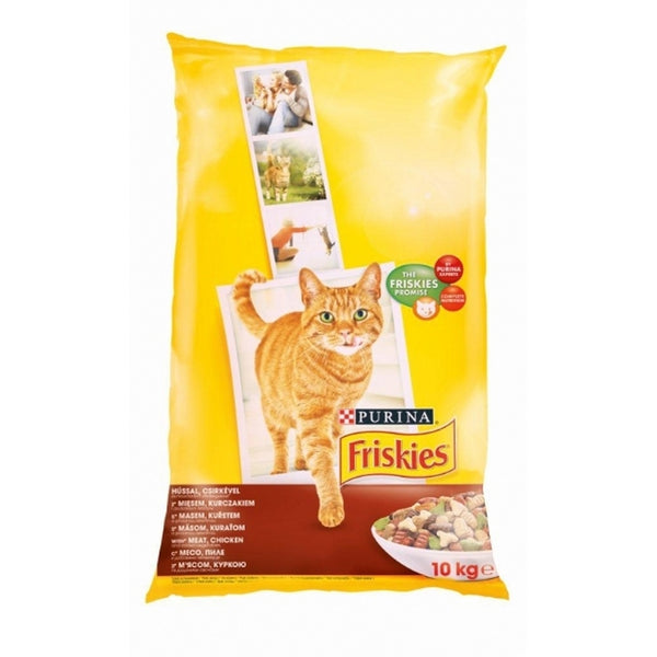 Friskies Meat and Chicken, Vegetable - 10kg