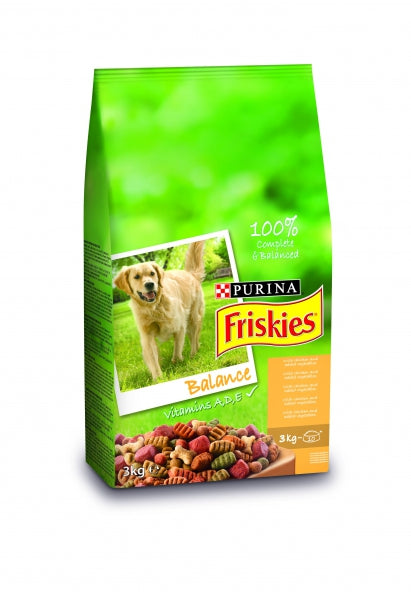 Friskies Balance Dry Dog - 3kg