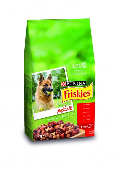 Friskies Active Dry Dog - 3kg