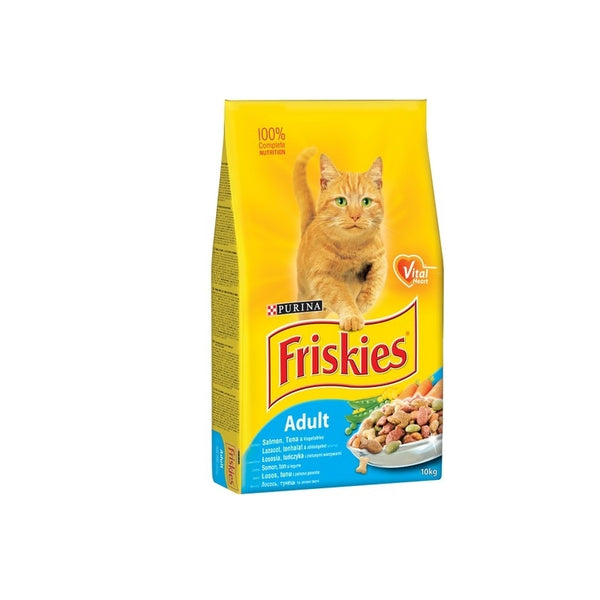 Friskies Salmon and Vegetable - 10kg