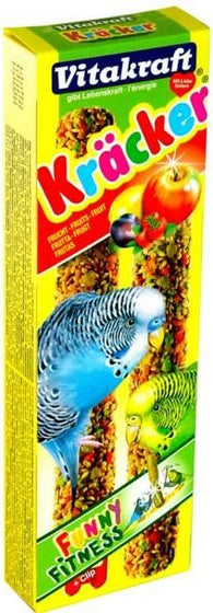 Vitakraft Kräcker Original Fruit For Budgies - 60g