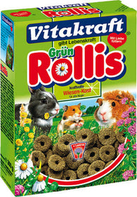 Vitakraft Green Rollis For Rodents - 300g