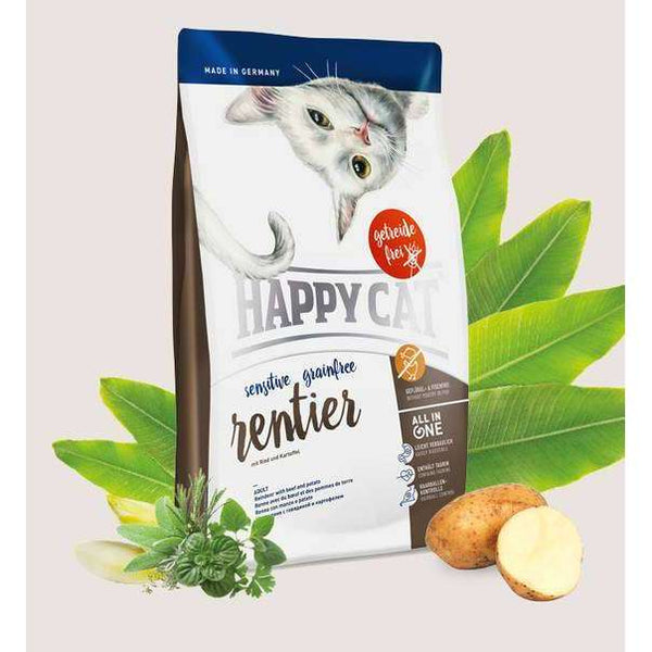 Happy Cat Sensitive Grainfree - reindeer - 1,4 kg