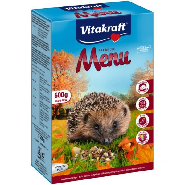 Vitakraft Premium Menu For Hedgehog - 600g