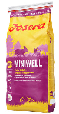 Josera Miniwell Adult Small Breed (For True Gourmets )(900g)