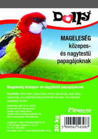 Dolly Seeds For Parakeets - 20kg