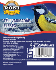 Roni Wild Bird Food In Winter - 1kg