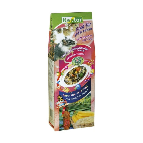 Nestor Food For Gerbils And Mice With Bananas & Rice - 700ml