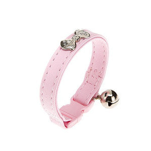 Ferplast Joy Cat C 12/19 Irnitation Leather Collar Pink