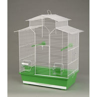 Inter-Zoo Bird Cage Iza II White - 510 x 300 x 605mm