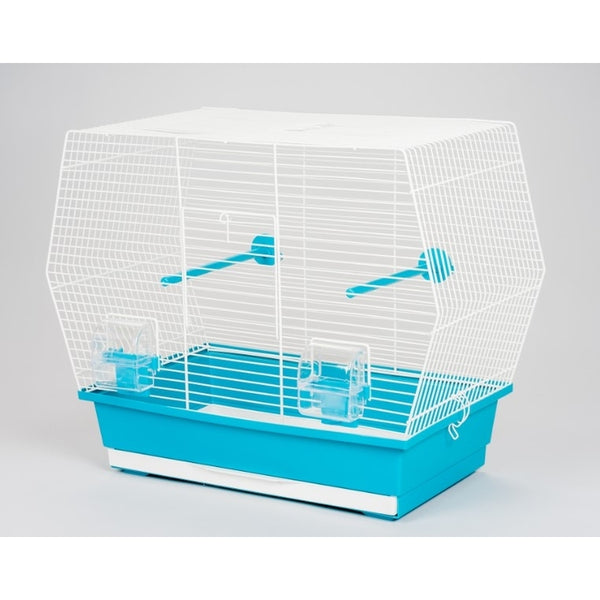 Inter-Zoo Bird Cage Gabi White - 530 x 280 x 430mm