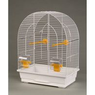 Inter-Zoo Duvo White Bird Cage with Bird Accessory
