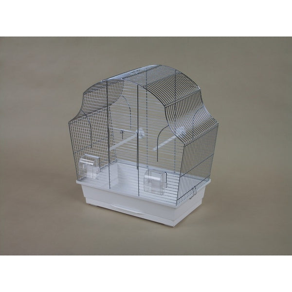 Inter-Zoo Bird Cage Margot II Chromium-Plated - 505 x 280 x 540mm