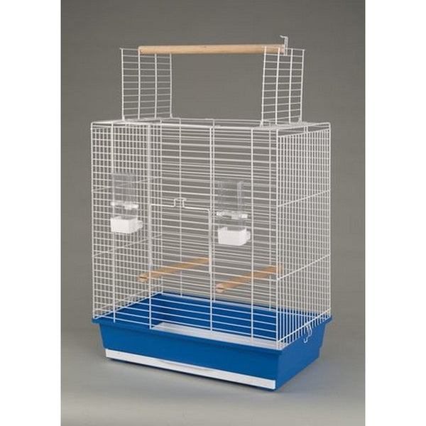 Inter-Zoo Bird Cage Ara White - 540 x 340 x 685mm